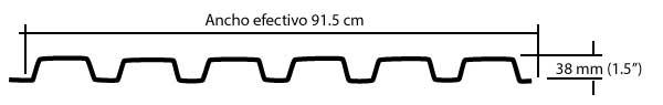 losacero 25 ternium