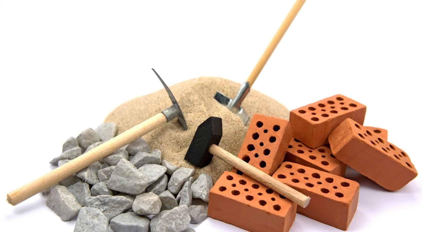 materiales de construcción novedades