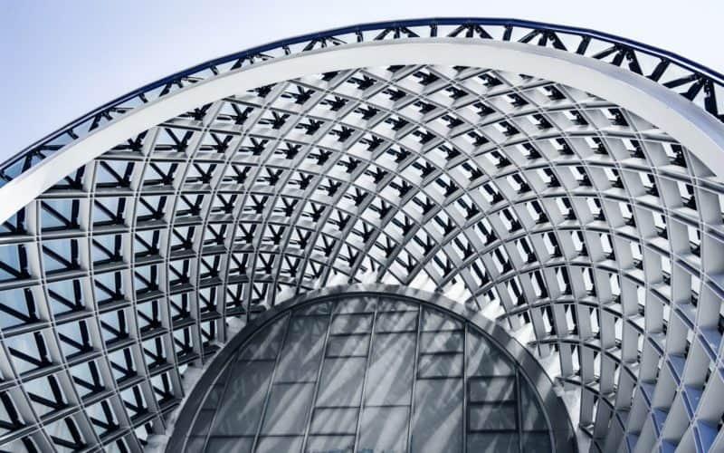 estructura metálica con galvanizado