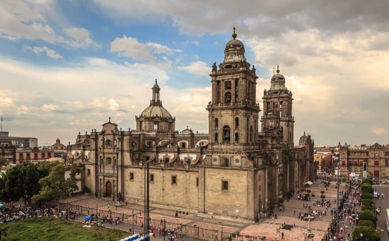 construcciones mexico catedral