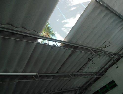 Como hacer una estructura metalica para techo que resista y sea barata