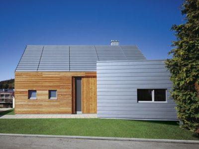 techo de lamina galvanizada de casa