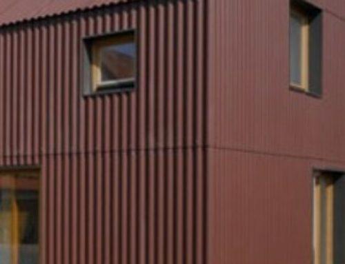 Fachadas con lámina galvanizada